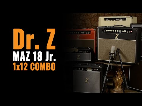 Dr. Z MAZ 18 Jr 1x12 Combo (http://goo.gl/xCvAEZ) Watch Alex Chadwick test drive the Dr. Z MAZ 18 amp at Chicago Music Exchange using 3 different guitars and various pickups to demonstrate...