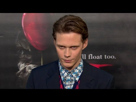 Bill Skarsgard & Alexander Skarsgard at the IT Premiere