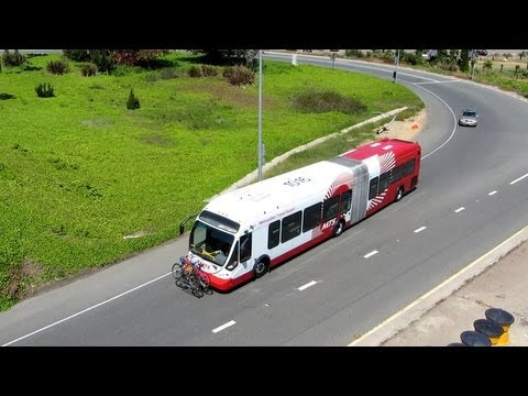 MTS NABI 60-BRT  – On Clairemont Dr to Interstate 5