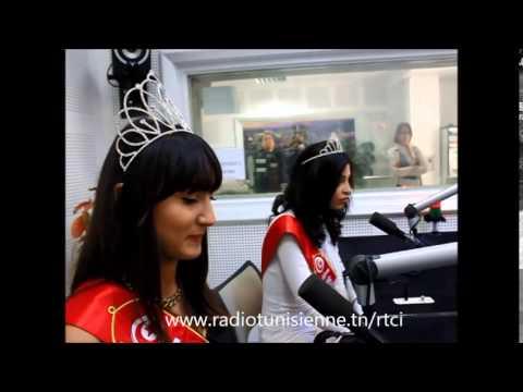 Miss Tunisie 2014 invité de RTCI