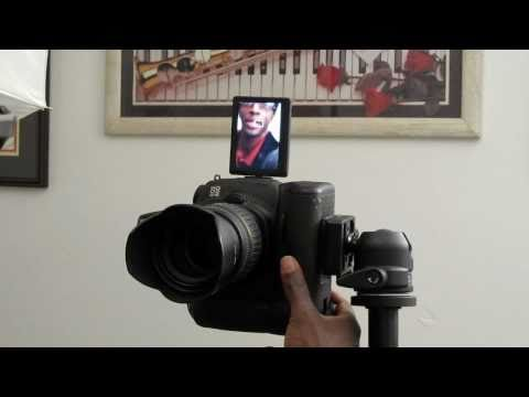Wireless Flash control with the Canon 60D