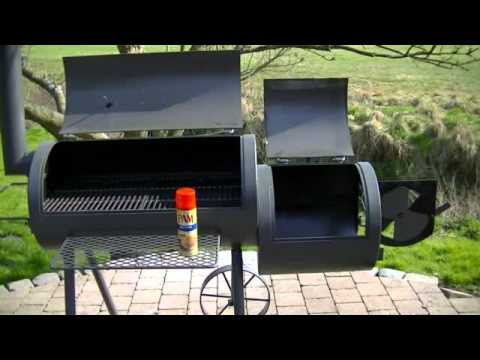 pr parer un barbecue smoker seasoning youtube. Black Bedroom Furniture Sets. Home Design Ideas
