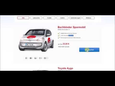 Как арендовать машину в Германии??? Аренда авто в Германии за 29 Евро в день