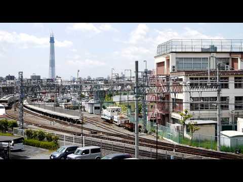 東武鉄道 350系 【臨時特急】 ゆのさと 鬼怒川温泉 行 SKY TREE TRAIN