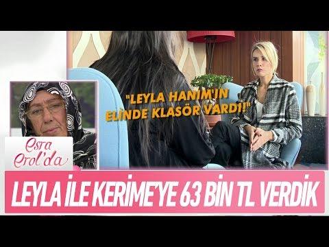 Leyla Atay ile Kerime hanıma 63 Bin TL verdik - Esra Erol'da 9 Kasım 2017