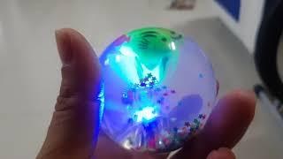 Kids Toy| Đồ chơi quả bóng đàn hồi phát sáng| Đồ chơi trẻ em