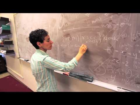 Maryam Mirzakhani wins 2014 Fields medal - first woman to do...