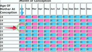 Chinese Gender Prediction Chart Explained! + How To Get Your Lunar Age!