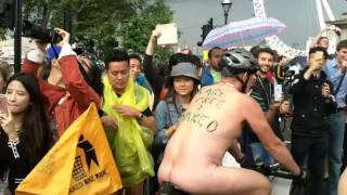 The London 2016 Naked Bike Ride part4 [Warning Contains Full Frontal Nudity]