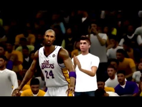 NBA 2K13 -  Justin Bieber In the Crowd at Lakers Game