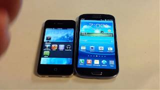 Samsung Galaxy S3 vs. iPhone 4S Comparison Review