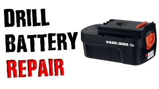 Fix a Dead Drill Battery That Wont Charge- Don