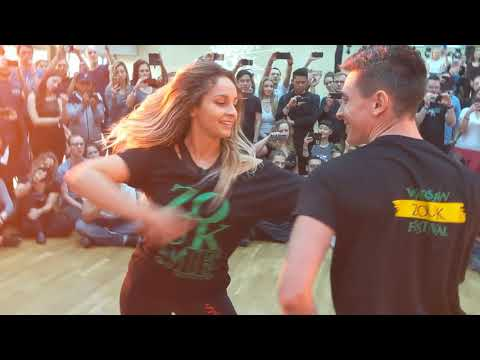 WZF2019: Larissa & Rick in Sunday morning class demo ~ Zouk Soul