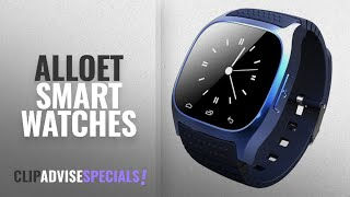 Top 5 Alloet Smart Watches [2018 Best Sellers]: Alloet New M26 Bluetooth 4.0 Smart Wrist Watch Phone