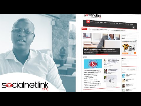 #WSA2015 : SocialNetLink the first web platform focusing on tech news and new media in Senegal
