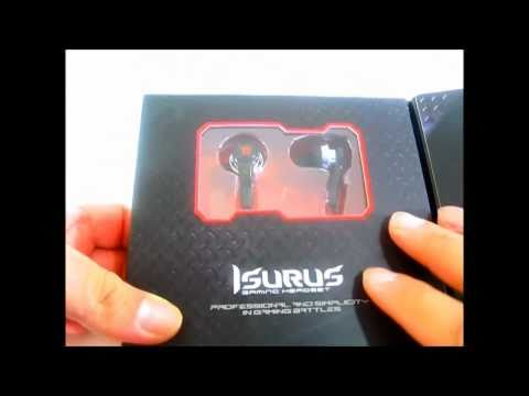Thermaltake Tt eSPORTS Isurus In-ear Gaming Headset - Unboxing and Overview