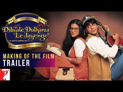 DDLJ Making Of The Film - Trailer | Aditya Chopra | Shah Rukh Khan | Kajol
