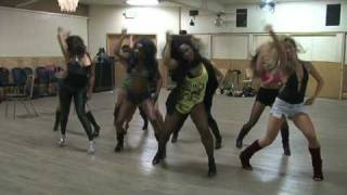 Tony G Choreography - Audition for Burlesque 7/14/09