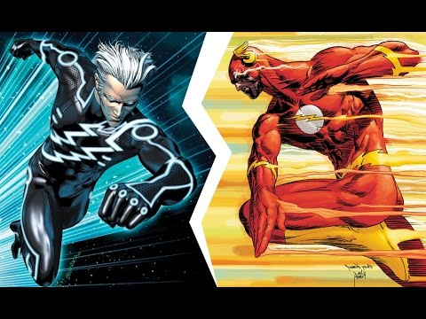 QuickSilver vs The Flash | İnanılmaz Rap Düelloları