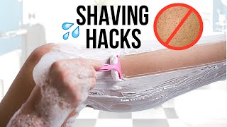 How to Shave Your Legs Perfectly!!! (Get Rid of Strawberry Skin)