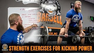 STRENGTH Exercises To Increase Kicking POWER | COMBAT SPORTS