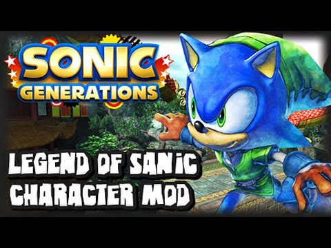 sonic generations pc legend of sanic character mod youtube