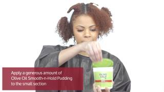 ORS Trend Alert - Flat Twist Twist Out How To