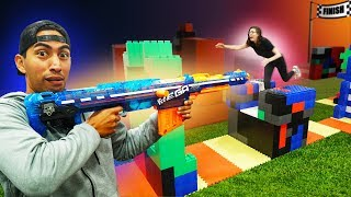NERF Snipers vs Runners Challenge!