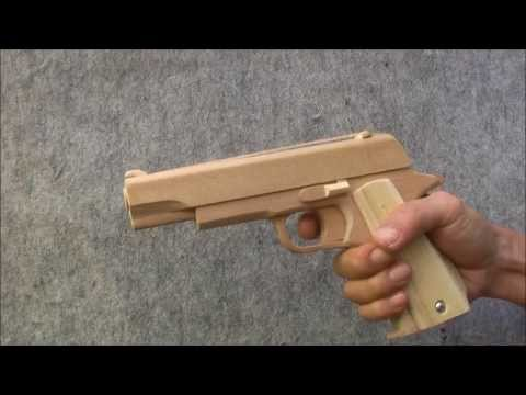 BLOW⇔BACK RUBBER BAND GUN 02.0 COLT M1911