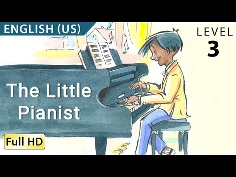 The Little Pianist: Learn English With Subtitles - Story For Children bookbox video