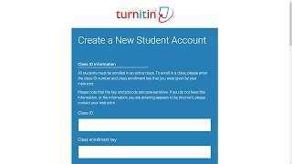 Turnitin New User Creation may be considered an invasion of privacy