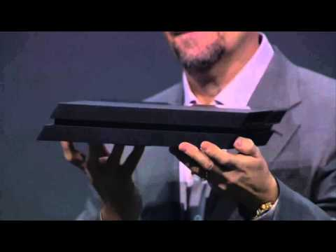 PS4 console revealed (E3 2013 Sony Press Conference) �Playstation 4 HD� E3M13