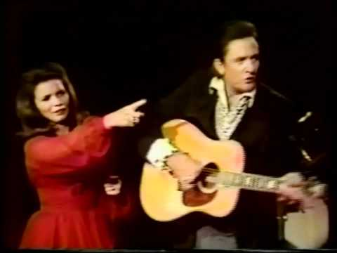 Johnny Cash and June Carter -