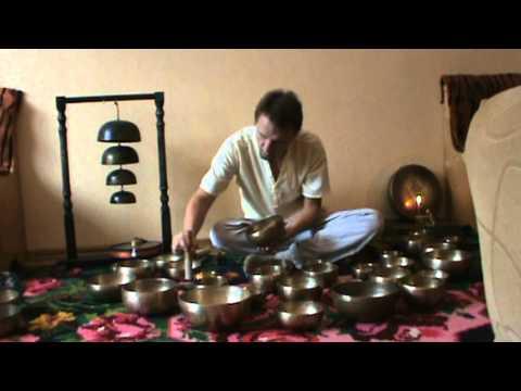 Звукотерапия. Тибетские поющие чаши. Наборы чаш.