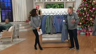 NFL 1/4-Zip Men's or Women' Pull-Over Microfleece Lined Jacket on QVC