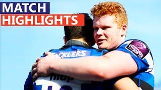 Bath Edge Wasps in 100-point Thriller | Premiership Rugby Under-18s Academy League Finals Day