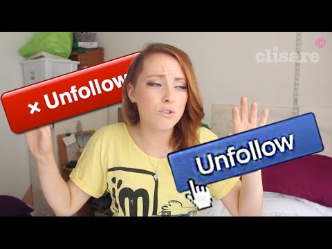 Why I Unfollow People