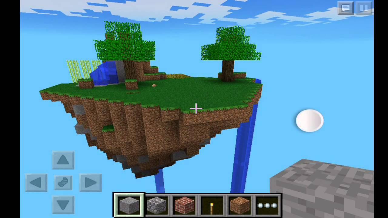 Mapa Islas en el Cielo Sky