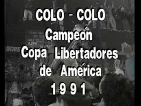 Colo Colo Campeon Copa Libertadores 1991(1-6)