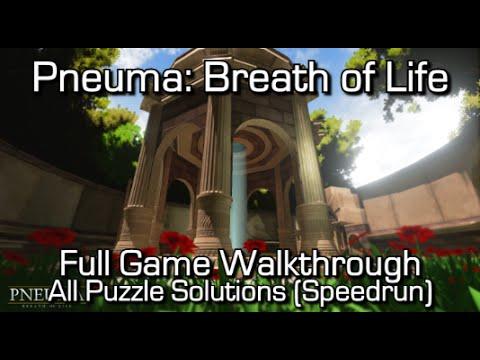 Pneuma: Breath of Life - Full Game Walkthrough + All Puzzle Solutions & Achievements! - Speedrun
