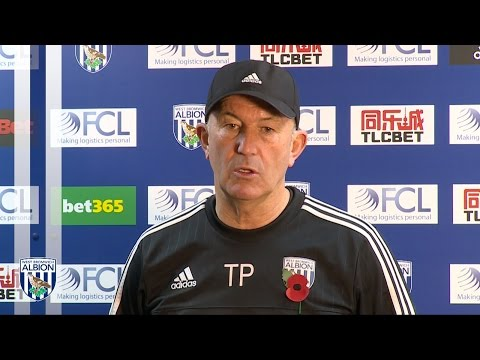 PRESS CONFERENCE: Tony Pulis previews Albion's Premier League trip to Manchester United