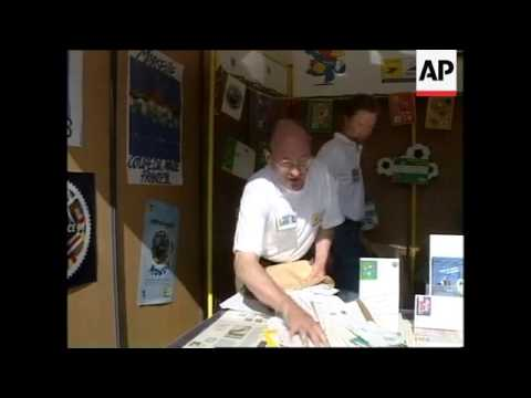FRANCE: BRAZILIAN WORLD CUP CAMP SETS UP ITS OWN POST OFFICE