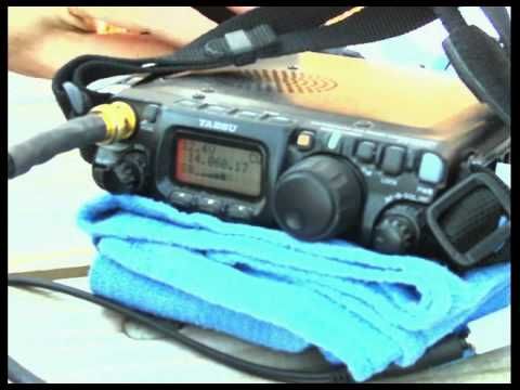QRP Outdoors = Low Noise.mov