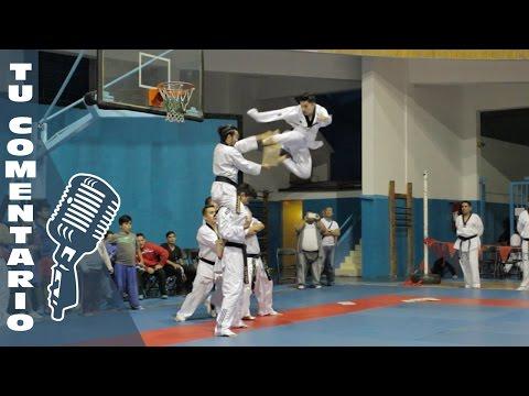 ROMPIMIENTOS Taekwondo Exhibición de Artes Marciales Plan Sexenal 2015