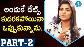 Miss Match Movie Actors Aishwarya Rajesh & Uday Shankar Part #2 | Talking Movies With iDream