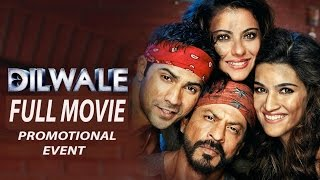Dilwale Hindi Movie 2015  | Shahrukh Khan | Kajol | Varun | Kriti | Full Movie Promotion Event