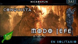 Conquista - Modo Jefe - En solitario con Demon Hunter