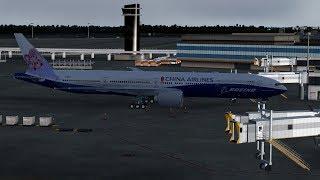 【P3Dv4】China Airlines CI105 RJAA-RCTP NRT-TPE 中華航空 東京成田-台北