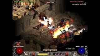 Have Fun! mod for Diablo 2 LOD, Walk on Monster street