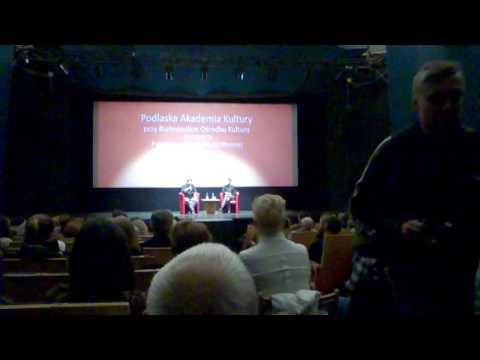 Robert Więckiewicz 23.04.2017 Białystok kino Forum